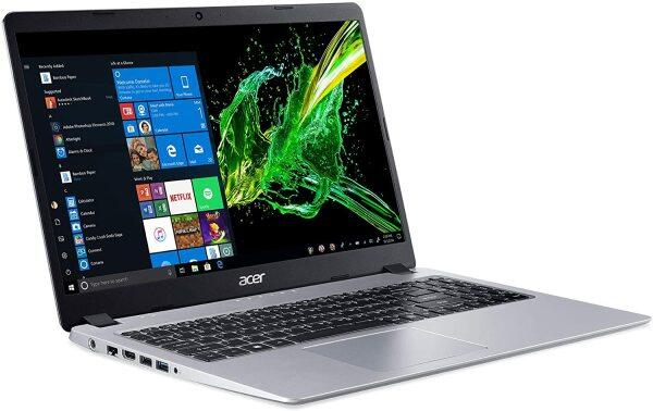 Acer Aspire 5 Slim Laptop, 15.6 inches Full HD IPS Display, AMD Ryzen 3 3200U, Vega 3 Graphics, 4GB DDR4, 128GB SSD, Backlit Keyboard, Windows 10 in S Mode, A515-43-R19L Malaysia