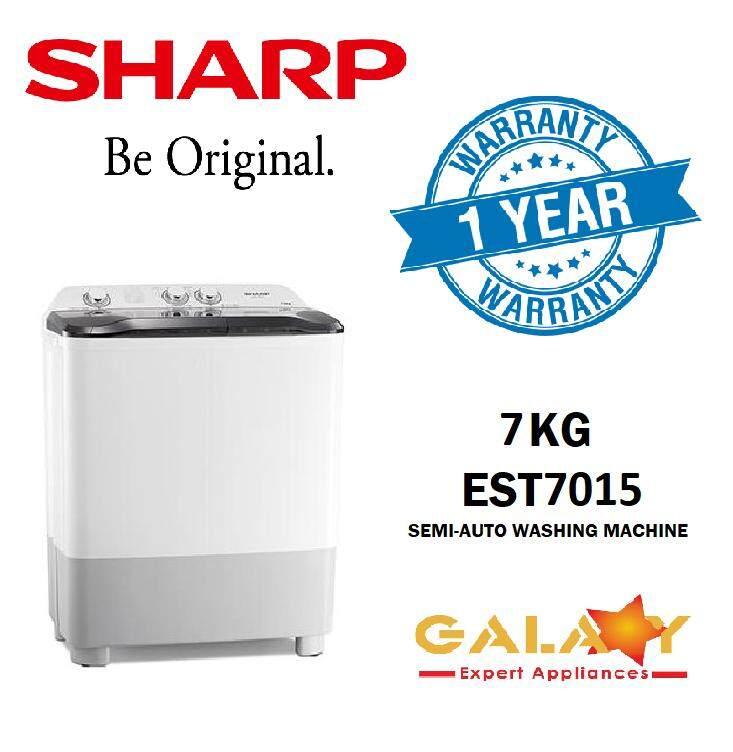 SHARP EST7015 - 7KG SEMI AUTO WASHING MACHINE