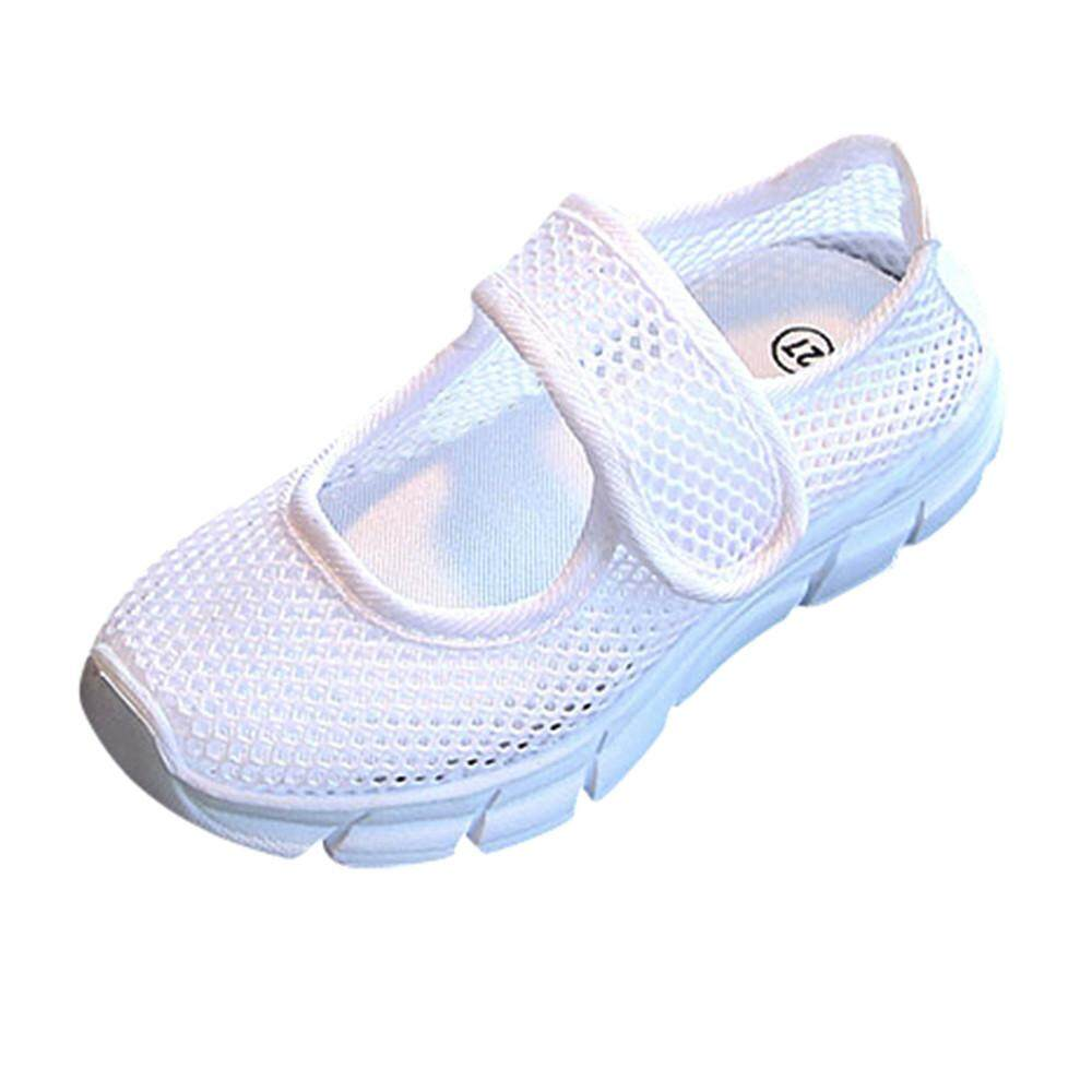 Baby Kids Boys Girls Closed Toe Beach Sports Sandals Casual Mesh Sneakers Shoes