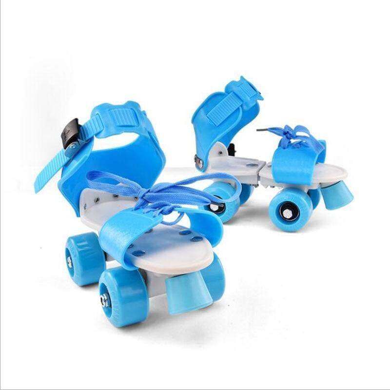 Phân phối Kích Thước Có Thể Điều Chỉnh Trẻ Em Giày Trượt Pa-tanh Hai Hàng 4 Bánh Xe Giày Trượt Băng Trượt Slalom Giày Trượt Patin Một Hàng Bánh Trẻ Em Quà Tặng Giày Sneaker Con Lăn