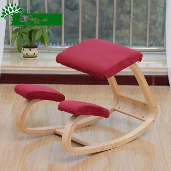 New Arrival Correction Chair Child Posture Correction Study Chair Correct Sitting Posture Computer Chair Office Solid Wood Simple Nordic Rocking Chair