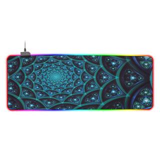 Tấm Lót Chuột Phát Sáng RGB Nhiều Màu KKmoon, Tấm Lót Chuột Đèn Nền RGB Có Thể Điều Chỉnh Miếng Lót Chuột Chơi Game Cao Su Chống Trượt Xanh Dương 800 300 4Mm thumbnail