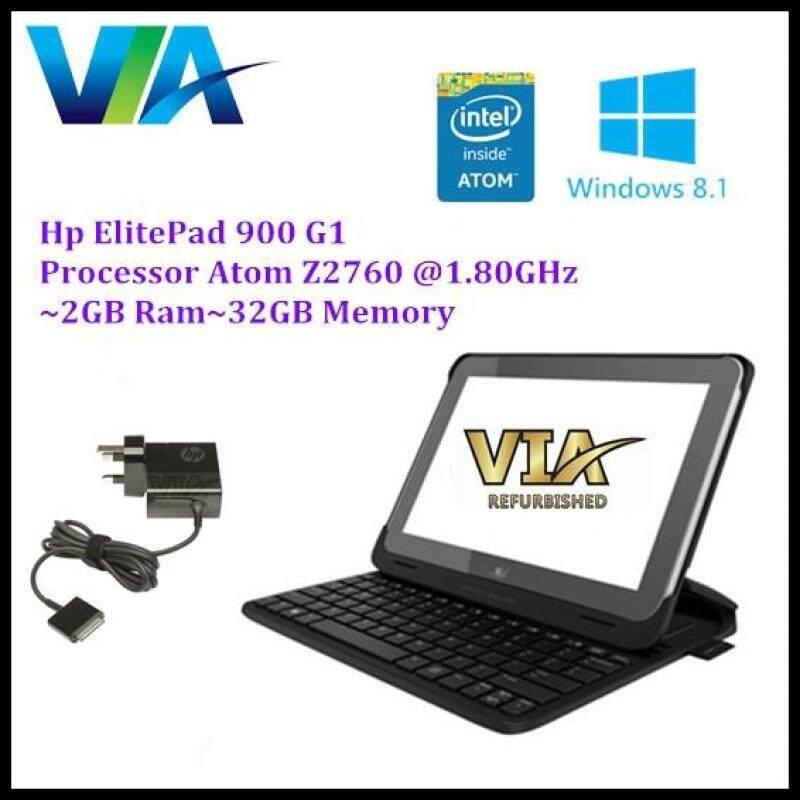 HP ElitePad 900 G1~Intel Atom Z2760~2Gb~32Gb Memory~Windows 8 Malaysia