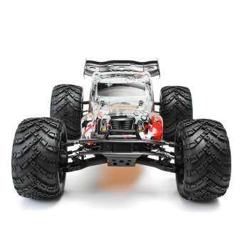 DHK HOBBY Zombie 8E 8384 1/8 100A 4WD Brushless รถกระบะมอนสเตอร์ RTR รถ RC-