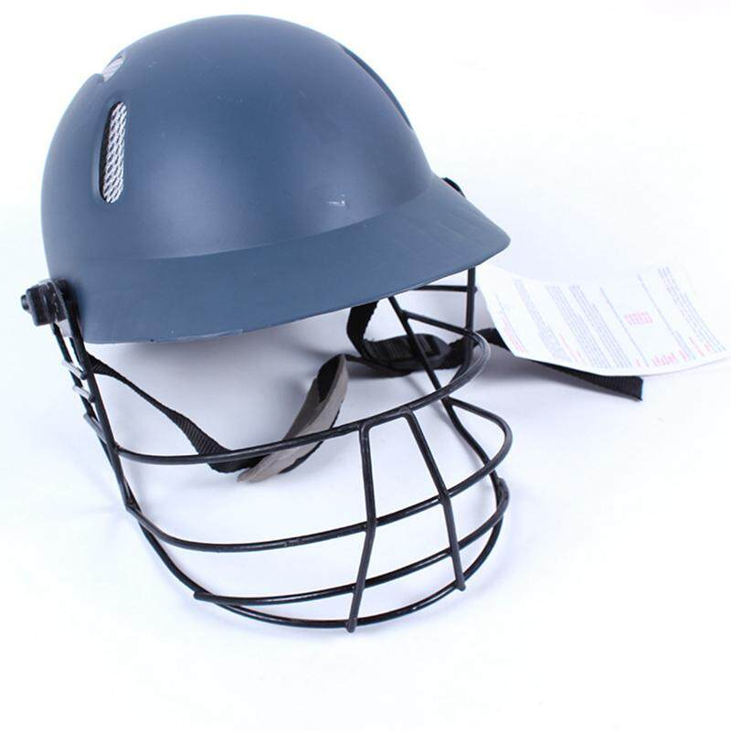 Hard Plastic Mens Cricket Helmet Guard Head Protector For Practice Game Player By Esydream.