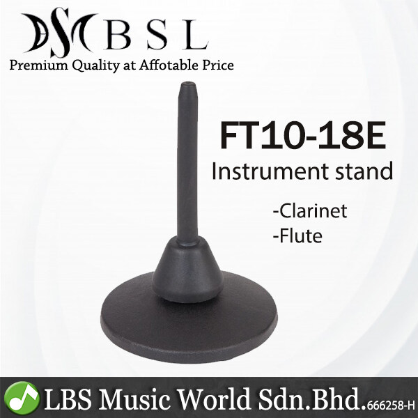 BSL FT110-18E Clarinet or Flute Round Base Metal Stand (FT110) Malaysia
