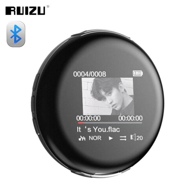 New Arrival Original RUIZU M1 Sport Bluetooth MP3 Player Mini Portable Audio Music Player 8GB with Built-in Speaker Support FM,Recording,E-Book,Clock Lossless Music Players