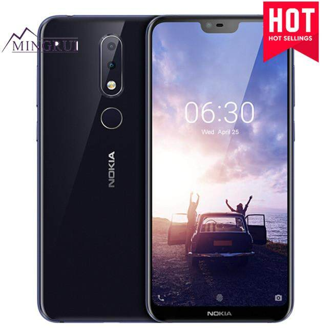 NOKIA X6 6GB RAM 64GB ROM Qualcomm Snapdragon 636 1.8GHz Octa Core 5.8 Inch Corning