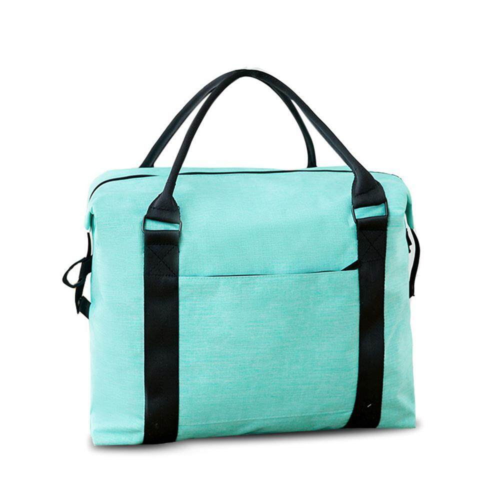 I-Cloud Waterproof Lightweight Travel Foldable Duffel Bag for Women & Men - Oxford Cloth, Washable Large Capacity, Durable, Heavy Duty, Weekend Bag Checked Bag Travel Luggage Tote