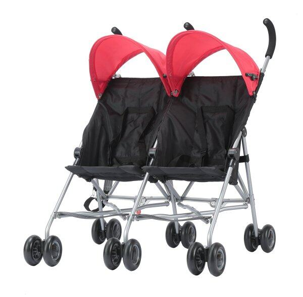 Endo stroller COOL KIDS CK buggy twin Red 7 months - Singapore