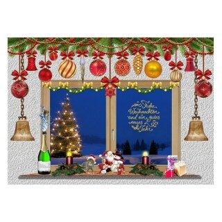 Phông Nền Chụp Ảnh Cây Giáng Sinh Bằng Vinyl Đạo Cụ Studio Chụp Ảnh, Phông Nền thumbnail