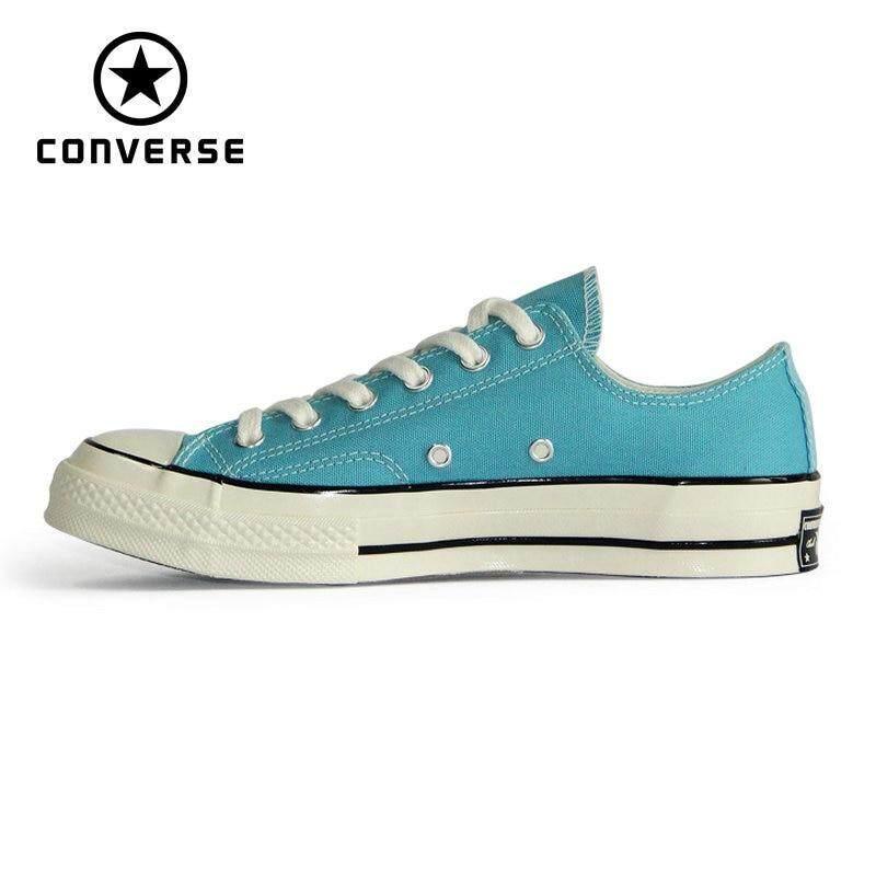 100% Original Converse_1970S Original Retro version all star shoes blue red color unisex sneakers Skateboarding Shoes 160444C