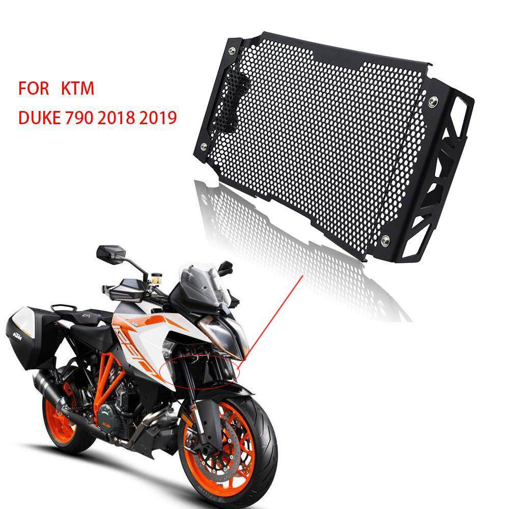 DOCONO Motorcycle Engine Radiator Bezel Grill Grille Guard Cover Protector  Stainless Steel Grill Guard Cover Protection For KTM DUKE 790 DUKE790 2018