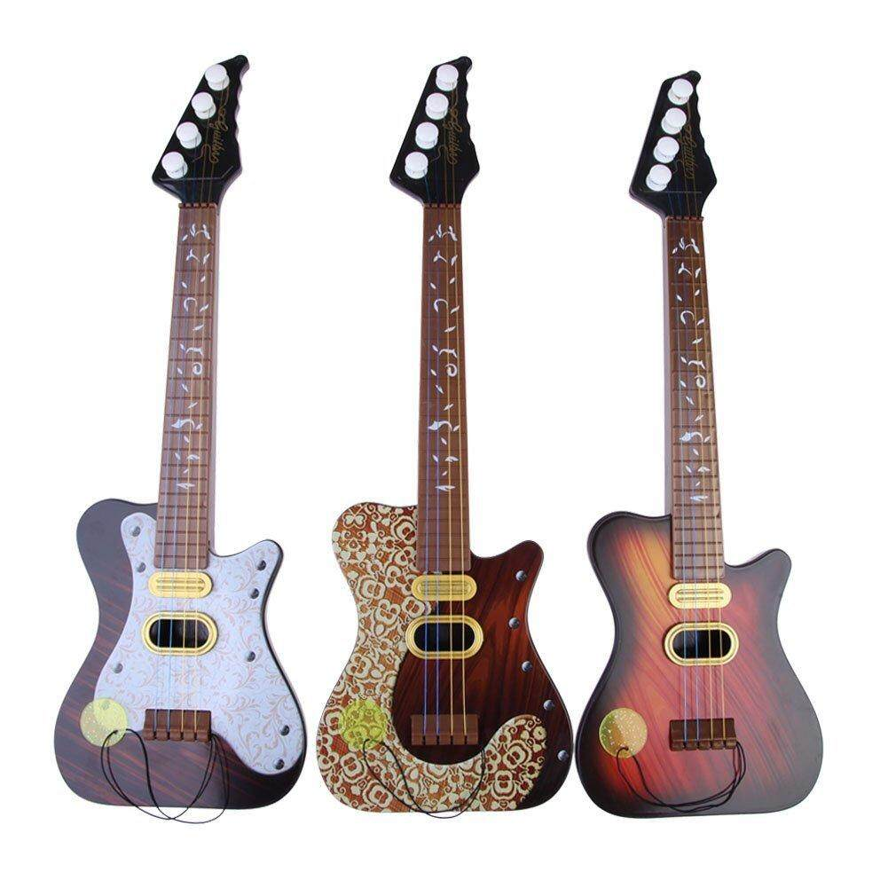Children 4 String Guitar Simulation Early Childhood Educational Toys Series By Rainning.