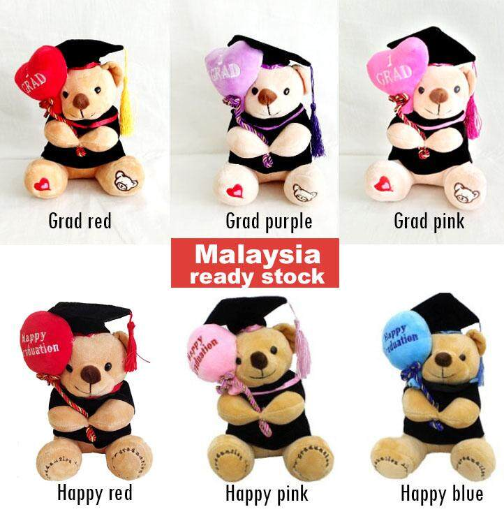 b74cb52d3 23cm 1pc Graduation bear Convocation bear stuffed toy Soft toy plushie  Convo gift