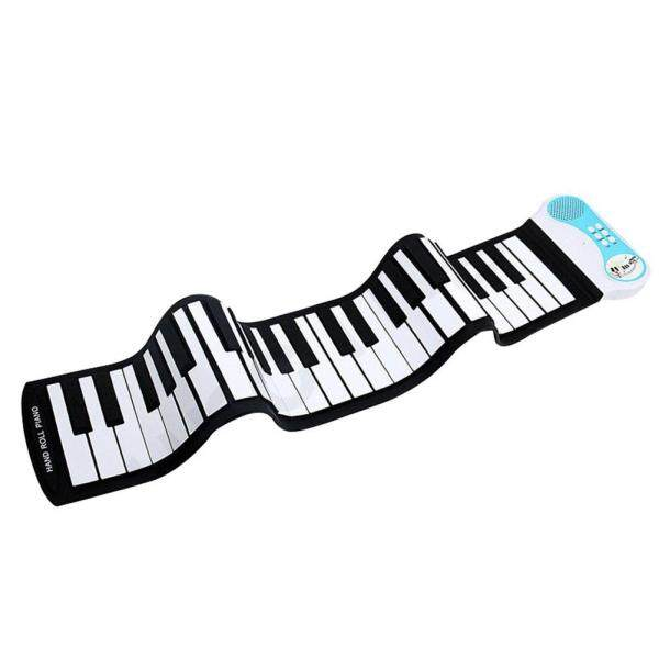 37 Keys Flexible Hand Roll Up Piano Portable Silicone Soft Keyboard Piano Malaysia
