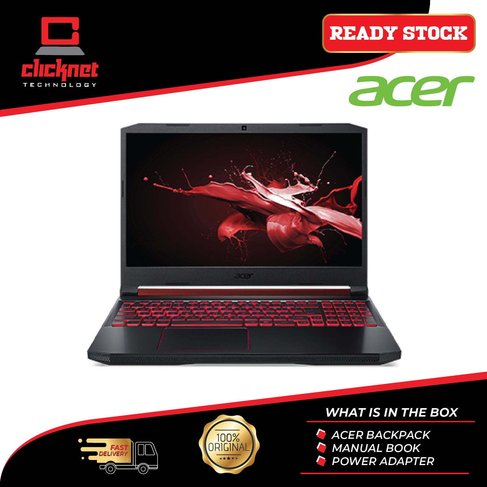 Acer Nitro 5 AN515-54-537N DOS 15.6  FHD IPS Laptop Black (i5-8300H, 4GB, 512GB SSD, GTX 1050 3GB) Malaysia