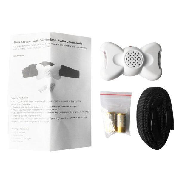 Ưu Đãi Hàng Đầu X-802 Bark Stopper Với Các Lệnh Âm Thanh Tùy Chỉnh Bow Bow Bark Control Collar