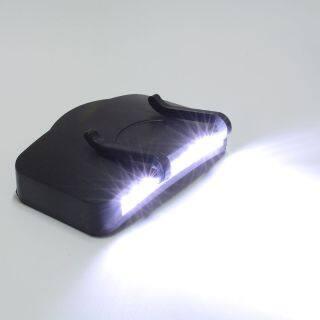 Mũ Ánh Sáng, Đèn LED Đi Bộ Kẹp Chất Lượng Cao Đèn Pha Mũ Cắm Trại 11 Mới, Đi Xe Đạp thumbnail