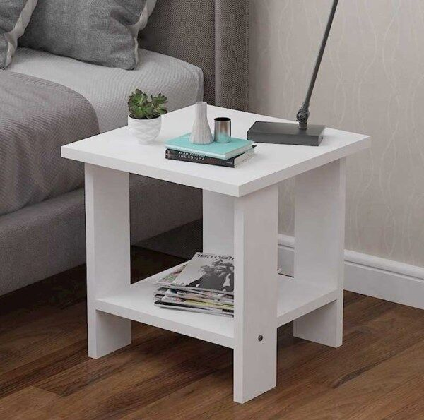 China Mobile Bedside Table Low Cabinet Simplicity Small Corner Table bian jiao zhuo Office Bedside Table Teapoy Table Square Side Table
