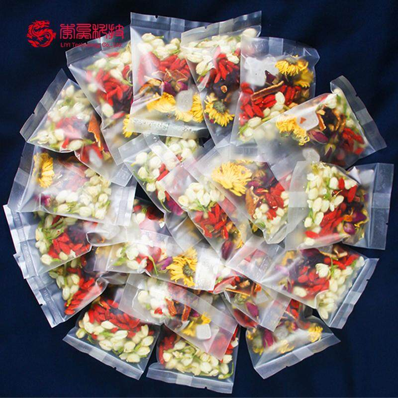 【Buy 1 get 1 free】 combination scented tea combination Scented tea Rose Luo Shen Hua Jasmine Flower Chrysanthemum health tea maintain beauty and keep young LHCC514