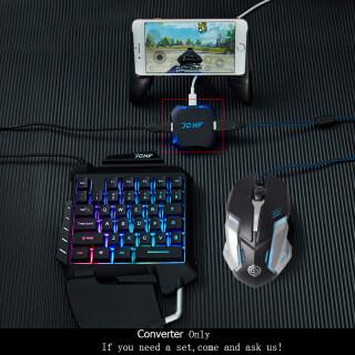 Bộ chuyển đổi kết nối bluetooth liên kết chuột với bàn phím và điện thoại dùng chơi game PUBG thích hợp cho IOS iPhone Android (sản phẩm bao gồm bộ chuyển đổi không kèm chuột và bàn phím) - INTL thumbnail