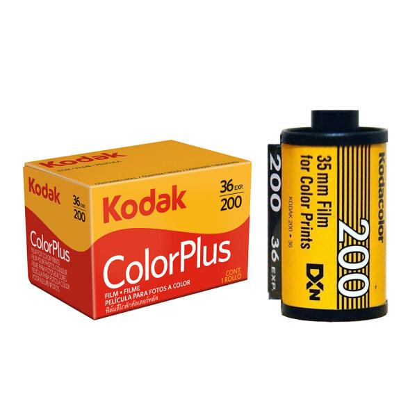 Phim KODAK 35mm Màu cộng với Colorplus 200 135 36 phơi sáng Phim âm bản cho Máy ảnh phim Kodak M35 M38 F9 Vibe 501F (ngày hết hạn 03/2023)