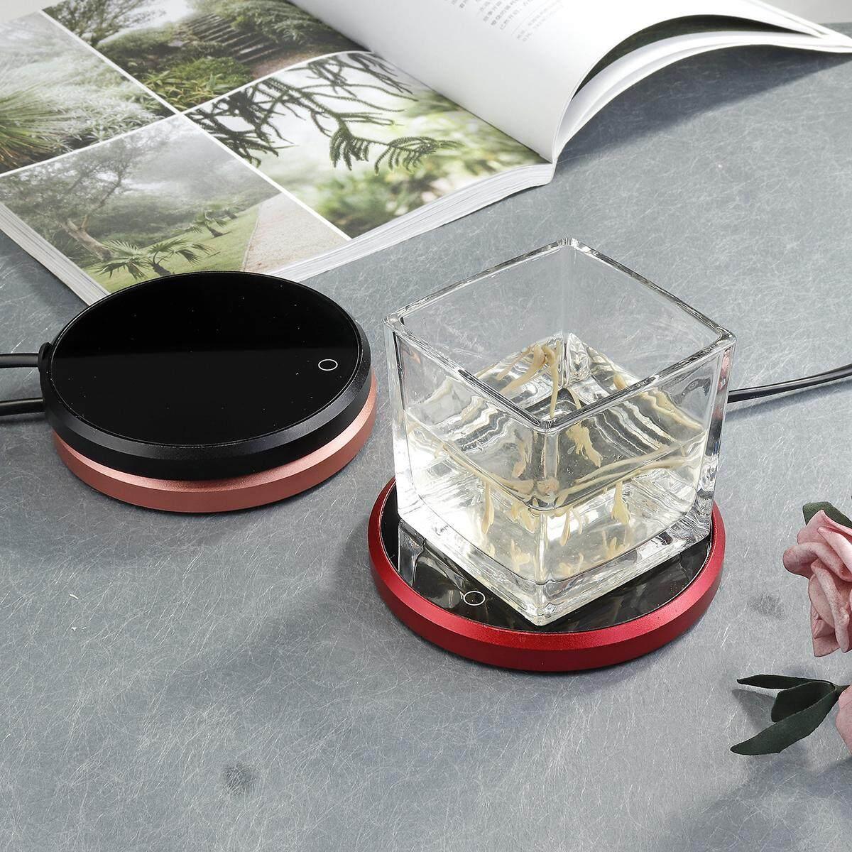Electric Tray Coffee Tea USB Drink Warmer Cup Glass Heater Hot Beverage Mug Pad