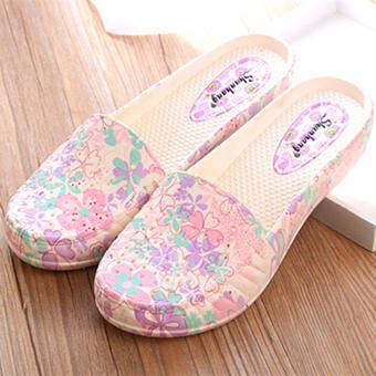 Kasut Wanitaเกาหลีแฟชั่นสไตล์Kasut Perempuanรองเท้าแตะผู้หญิงแบบพื้นบางรองเท้าแตะผู้หญิง2020New