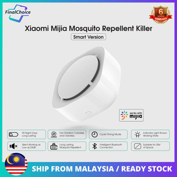 Xiaomi MiJia Mosquito Repellent Killer (Smart Version) 90 Night Days Long Lasting Works with MiJia Apps