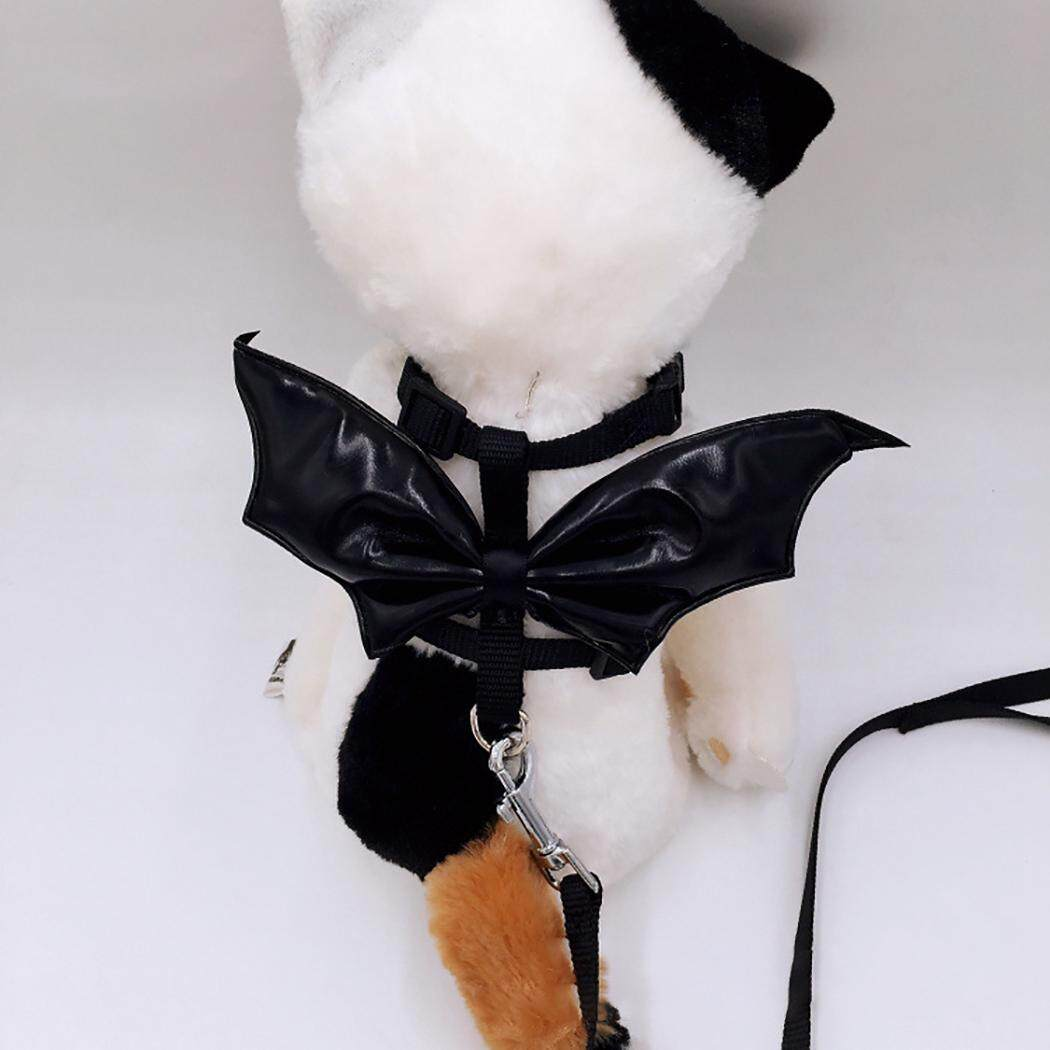 Thú Cưng Dây Xích Dây Bộ Bát Thiết Kế Hình Thú Đáng Yêu Cánh Mèo Dây Bộ cho Halloween, Loại 45 Cánh Lớn - 3