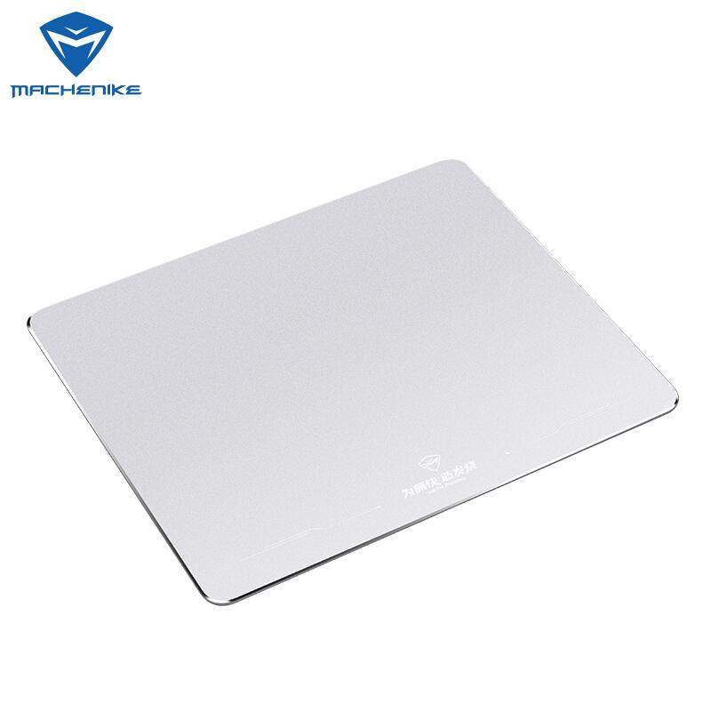 [Delivery in 72 Hours]Machenike Gaming Metal Mouse Pad Office Home For PC desktop Laptop Computer Notebook silver / blue / red  metal mouse pad supported DOTA2CSGOGTA5 FORTNITEPUBGLOL Malaysia