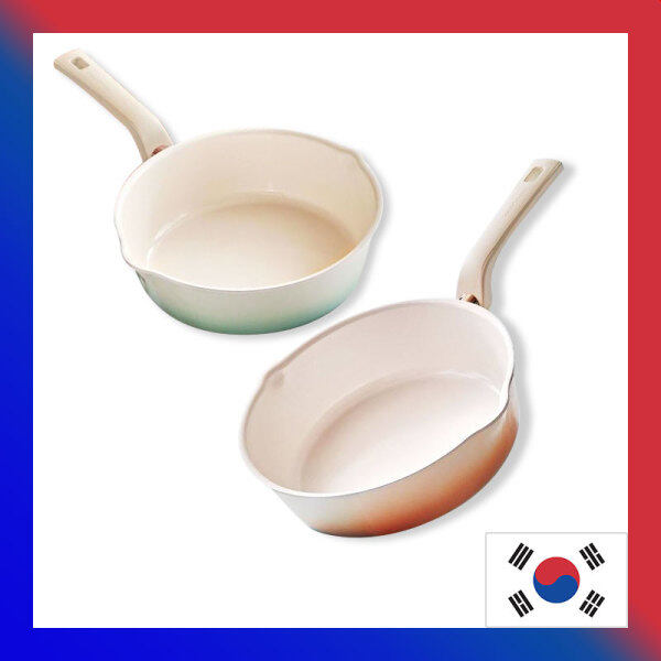 HappyCall 3-in-1 IH Flex Blanc Wide Pan+Wok+Pot 22cm / Frying pans woks pots Singapore