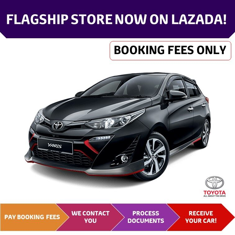 Toyota Yaris 2020 Booking Fees Through App Only All New Yaris Lazada