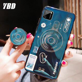 YBD Ốp Lưng Điện Thoại Họa Tiết Máy Ảnh Blu-ray Cho OPPO Realme C11 C15 C12 Kèm Giá Đỡ Điện Thoại Di Động-Intl thumbnail