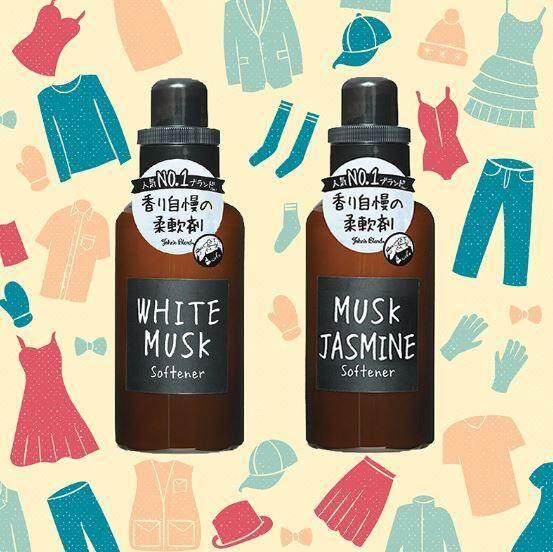 Fabric Softener 510ml - John's Blend : MUSK JASMINE #NO.1
