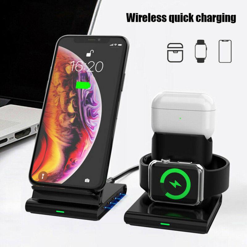 Giá Kép Không Dây Sạc Điện Thoại Sạc Thảm Lót Cho iPhone Samsung Dành Cho LG