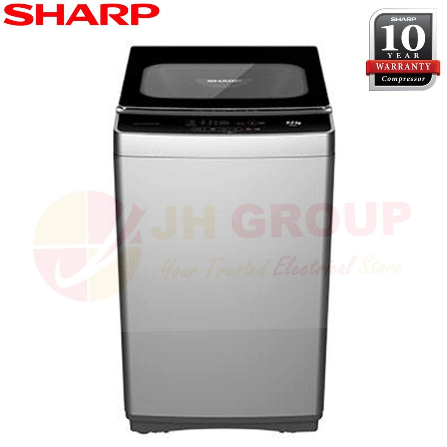 (AUTHORISED DEALER) SHARP ESX958 / ESX-958 9KG TOP LOAD WASHING MACHINE*SIMILAR AW-H1000GM
