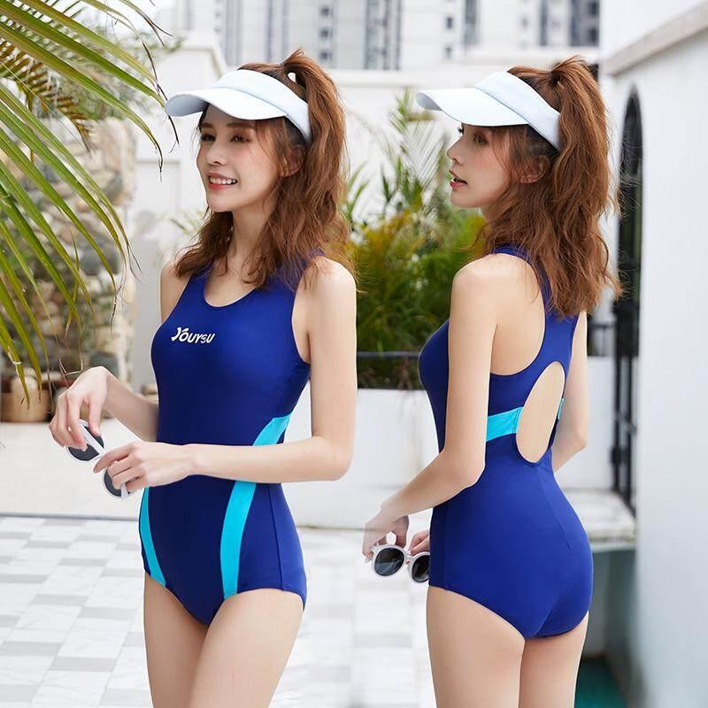 acf65a1e46 Women Plus Size Fashion Trendy One Piece Sexy Sporty Swimwear