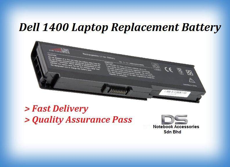 Dell Vostro 1400 WW118 WW116 Replacement Laptop Battery / Dell 1400 Battery Malaysia