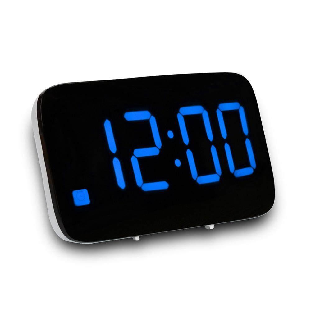 Nơi bán Tupac LED Hiển Thị Kỹ Thuật Số Điều Khiển Giọng Nói Báo Lại Để Bàn USB Đêm Đồng Hồ Báo Thức Để Bàn