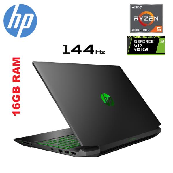 HP Pavilion Gaming 15-ec1036AX-16GB 15.6 FHD 144Hz Laptop (Ryzen 5-4600H, 16GB, 512GB SSD, GTX1650 4GB, W10) Malaysia