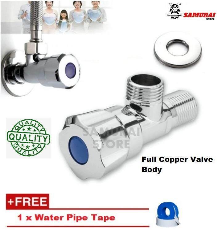 Kitchen & Bathroom Angle Valve Basin Faucet Angle Valve Sink Faucet Angle Valve Control