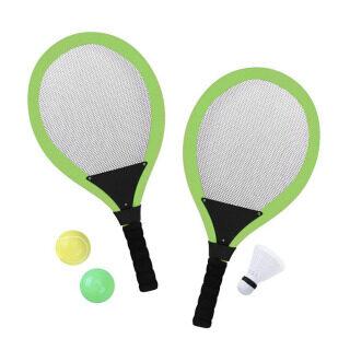 Bộ Vợt Tennis Trẻ Em Với Đá Cầu Trò Chơi Thể Thao Cầu Lông Cho Trẻ Em Kèm 2 Bóng Chất Lượng Cao Bền thumbnail