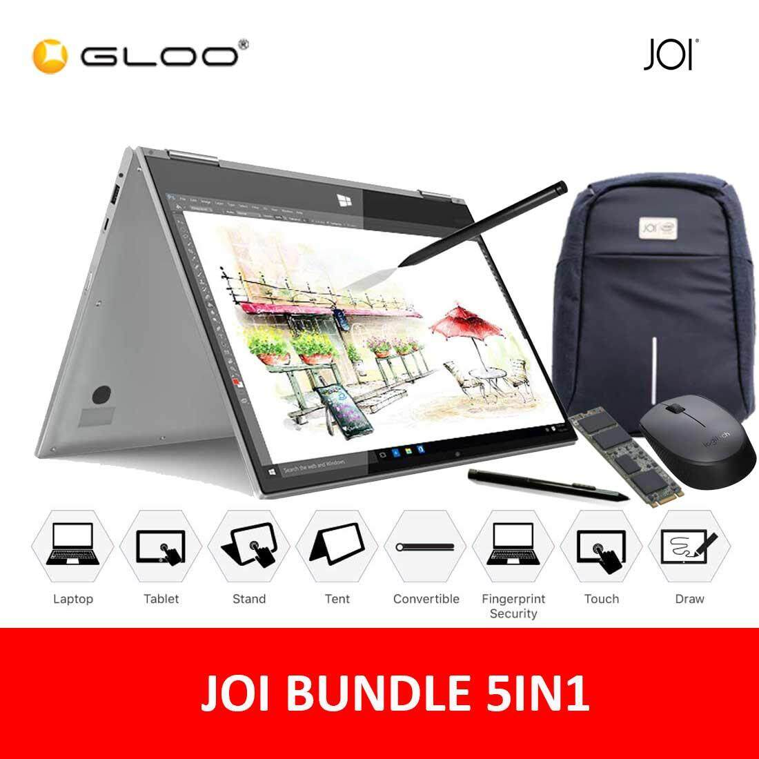 JOI Book Touch 300 + 256GB SATA SSD + Active Pen Pro 300 + Backpack + Wireless Mouse Malaysia