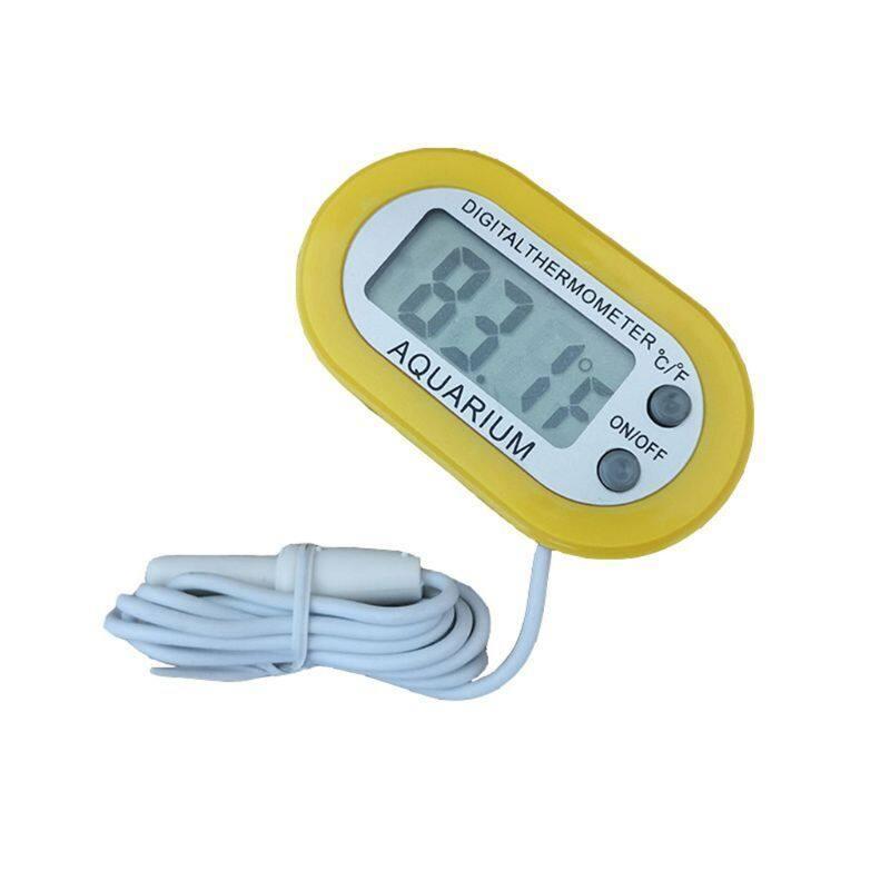 1 cái kỹ thuật số LCD cảm biến hồ cá nhiệt kế bể cá đo nhiệt độ nước