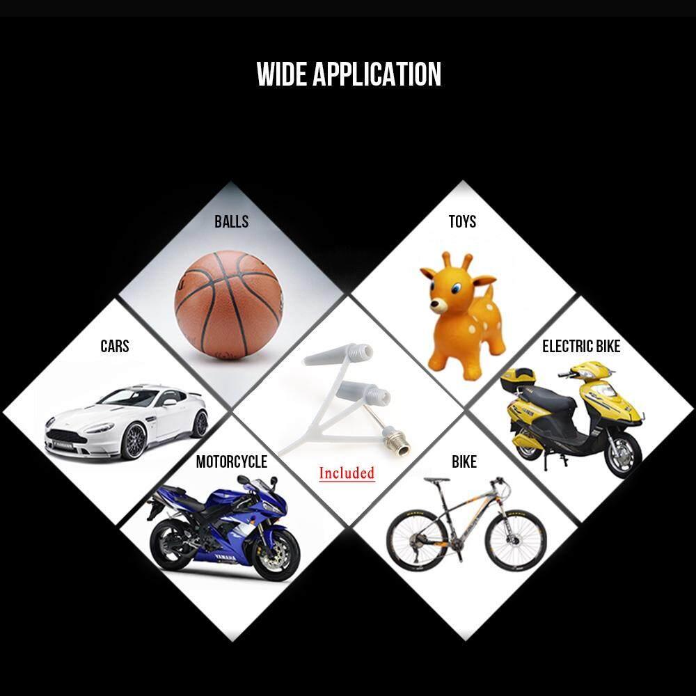 Air Inflation Valve Adaptor Motorcycle Car Football Airbed Bike Cycle Foot Pump