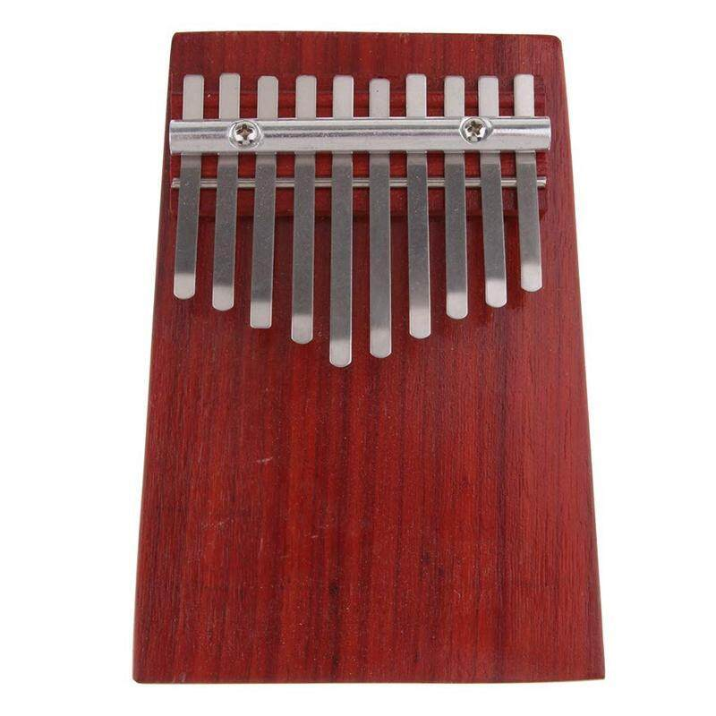 10 Keys Red Wood Mini Finger Piano Kalimba Thumb Traditional African Music Instruments Suitable for Beginners Advanced Players and Music Lovers Malaysia