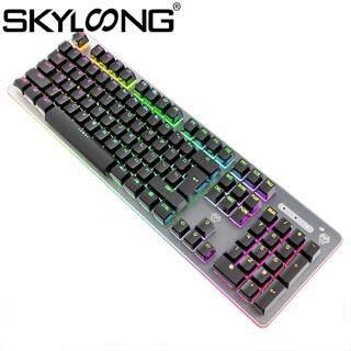 Skyloong SKYLOONG G900 Bàn Phím Cơ Chơi Game Trục Xanh Có Dây Đèn Nền, Dành Cho Máy Tính Xách Tay thumbnail
