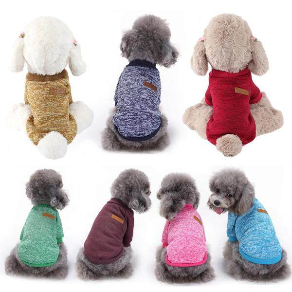 Áo len sợi đan ấm áp mặc mùa đông cho chó mèo thú cưng, nhiều màu sắc để lựa chọn Huanhuang® - INTL